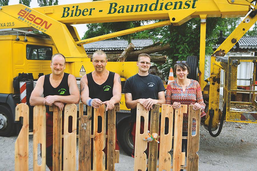 Biber-Baumdienst kümmert sich seit 20 Jahre um Berliner Schattenspender