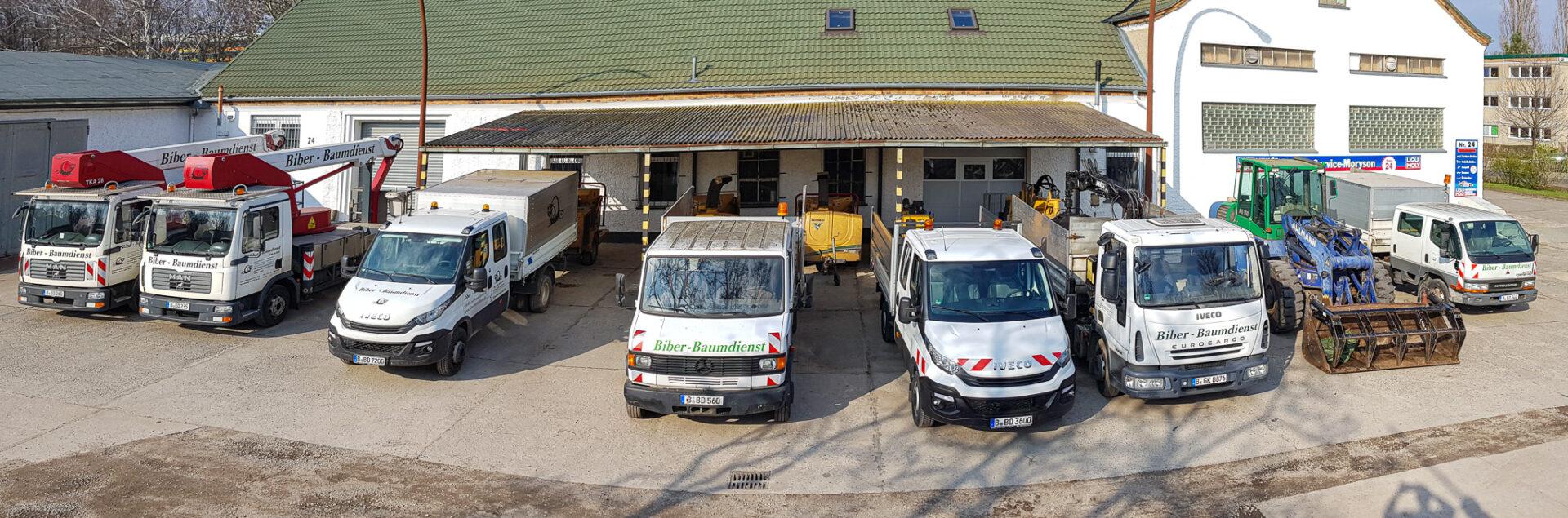 Biber-Baumdienst – Technische Ausstattung – Fuhrpark